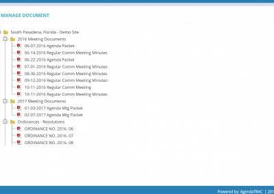 Manage Documents